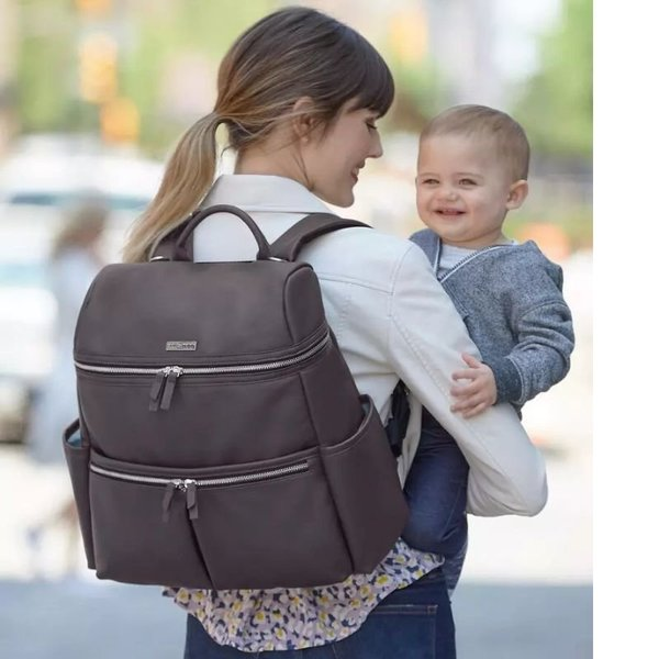 View larger image of Flatiron Diaper Backpack - Brown