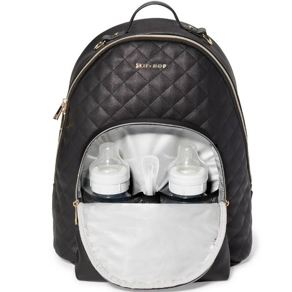 View larger image of LINX Quilted Diaper Backpack
