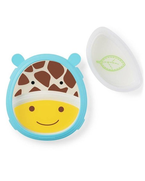 View larger image of Zoo Smart Serve Plate & Bowl Set