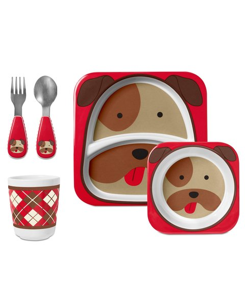 View larger image of Zoo Winter Mealtime Gift Sets