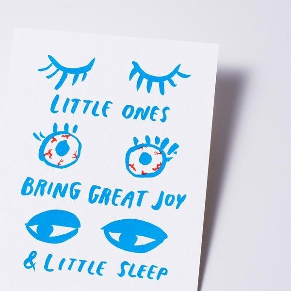 View larger image of Card - Sleepy Baby Eyes