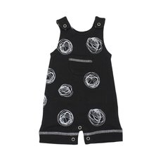 Organic Sleeveless Romper - Spheres