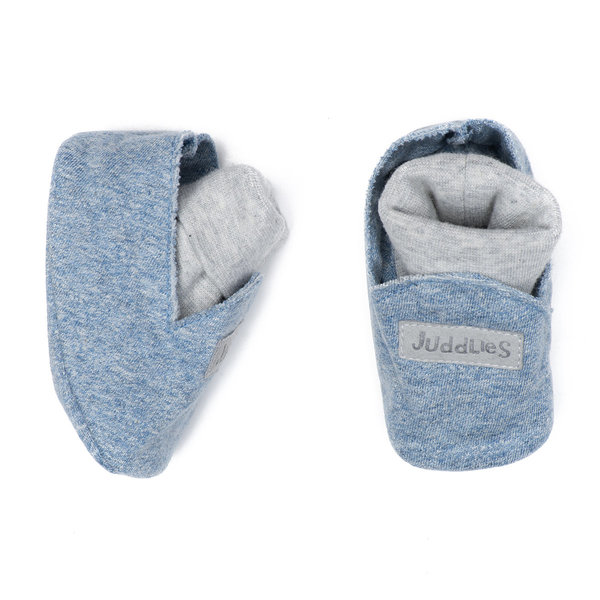 View larger image of Slippers - 0-3 Months - Denim