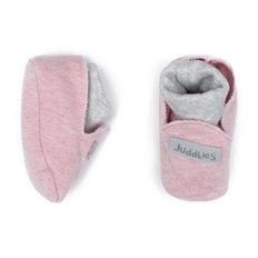 Slippers - 0-3 Months - Dogwood Pink