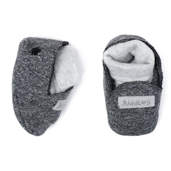 View larger image of Slippers - 0-3 Months - Graphite Black