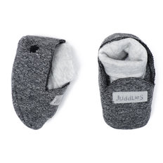 Slippers - 0-3 Months - Graphite Black