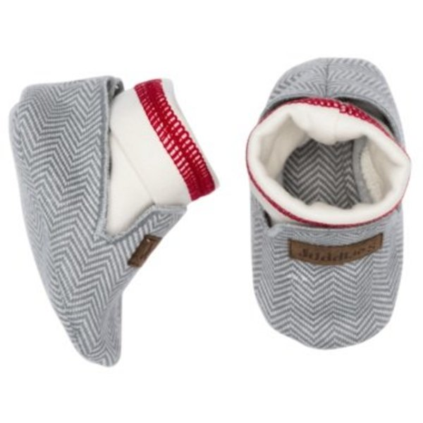 View larger image of Slippers - 0-4 Months - Driftwood Grey