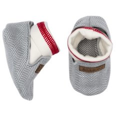 Slippers - 0-4 Months - Driftwood Grey
