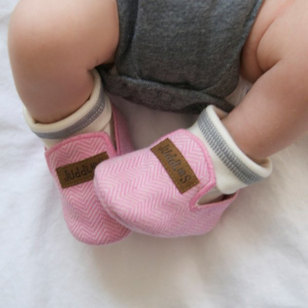 View larger image of Slippers - 0-4 Months - Sunset Pink
