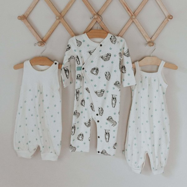 View larger image of Dotted Leaves Organic Jumpsuit
