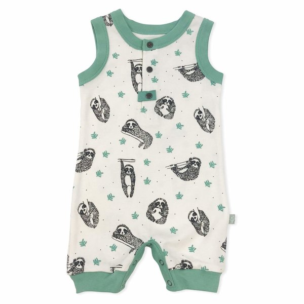 View larger image of Sloth Organic Romper - 9-12 M