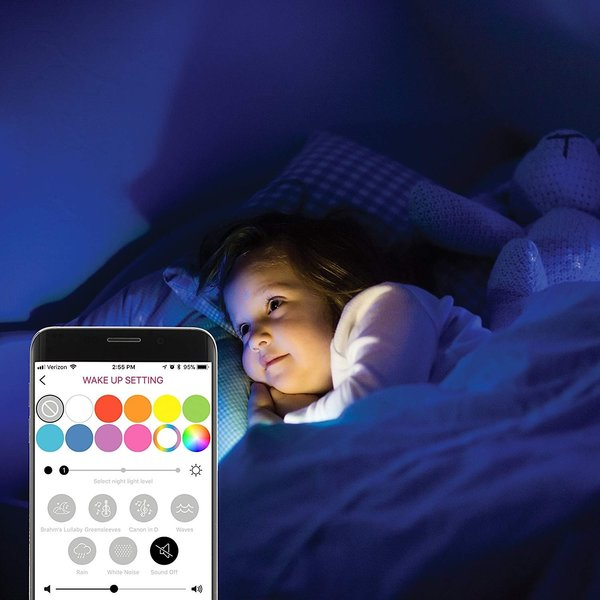 View larger image of Alexa Enabled Smart Sound Soother & Night Light