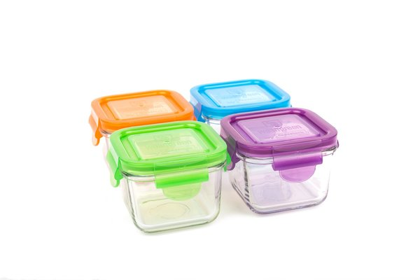 View larger image of Snack Cube Food Storage - 4 Pack - 7 oz