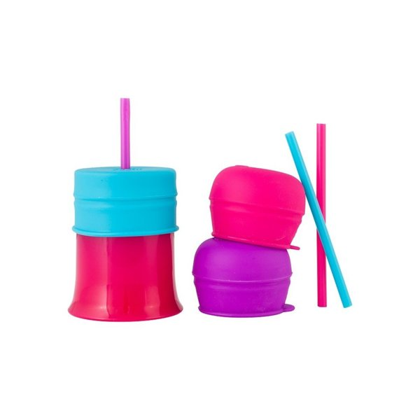 View larger image of Snug Straw with Lids and Cup