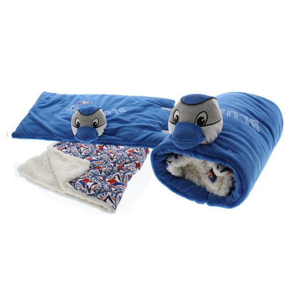 View larger image of Blue Jays Blanket & Pillow Set
