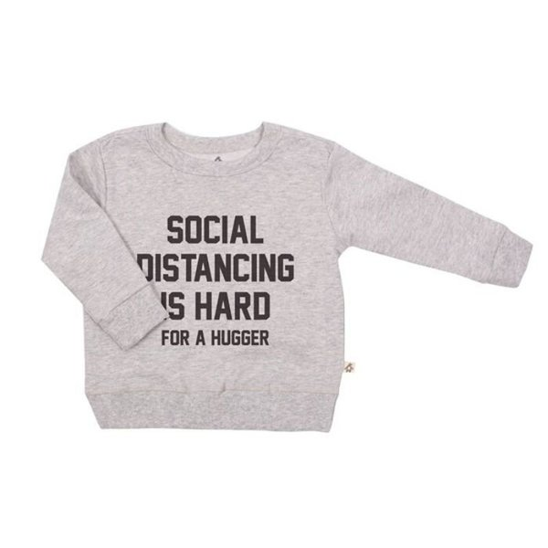 View larger image of Social Distancing Is Hard Pullover