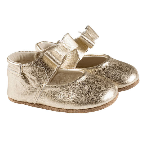 View larger image of Sofia First Kicks Soft Sole Shoes - Gold
