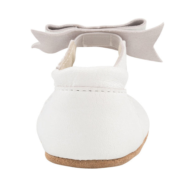 View larger image of Sofia First Kicks Soft Sole Shoes - White