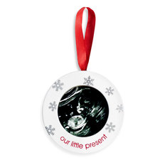 Sonogram Ornament
