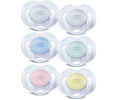 Soother Translucent 2 Pack (0-6M)