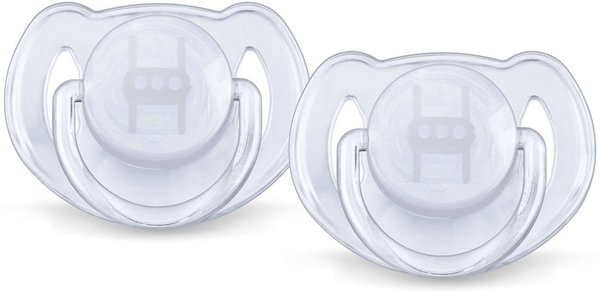 View larger image of Soother Translucent 2 Pack (6-18M)