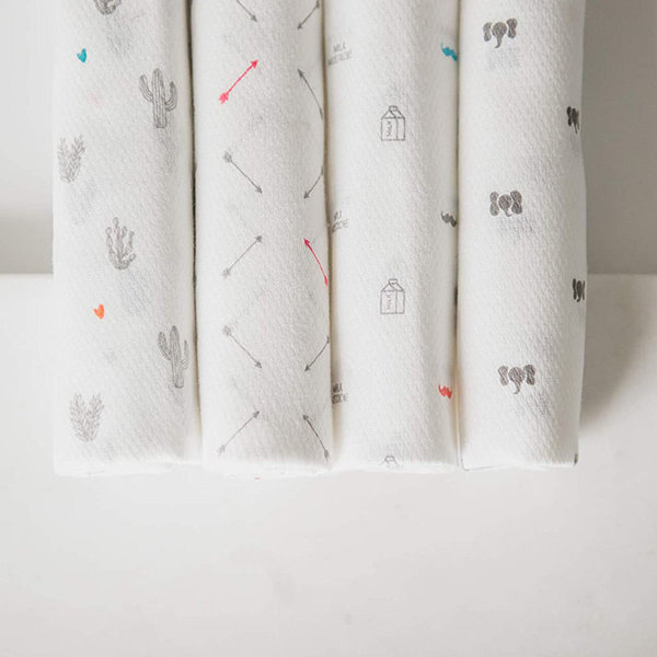 View larger image of Cotton Baby Cloths Bundles - 5 pack