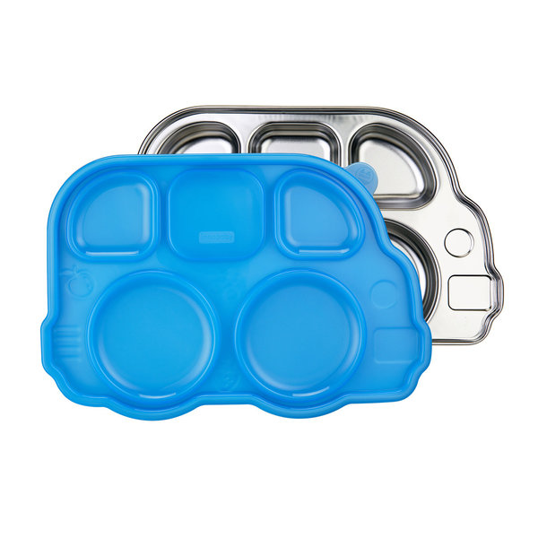 View larger image of Stainless Platter - Blue Lid