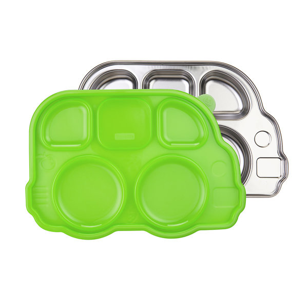 View larger image of Stainless Platter - Green Lid