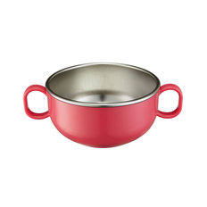 Stainless Starter Bowls - Pink
