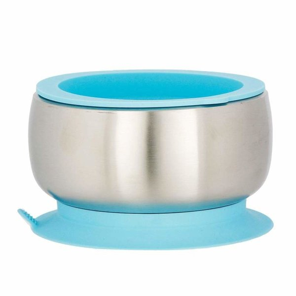 View larger image of Stainless Steel Baby Bowl - Blue