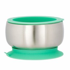 Stainless Steel Baby Bowl - Green
