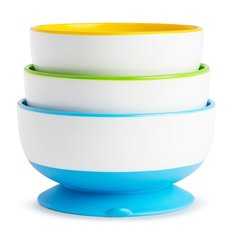 StayPut Suction Bowls 3pack