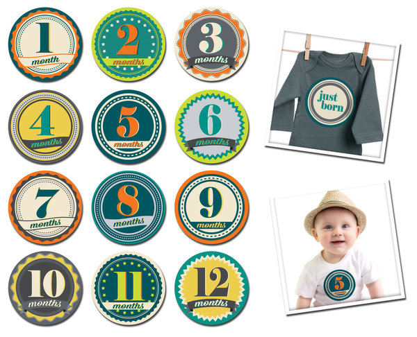 View larger image of Sticky Bellies - Badge Boy NB
