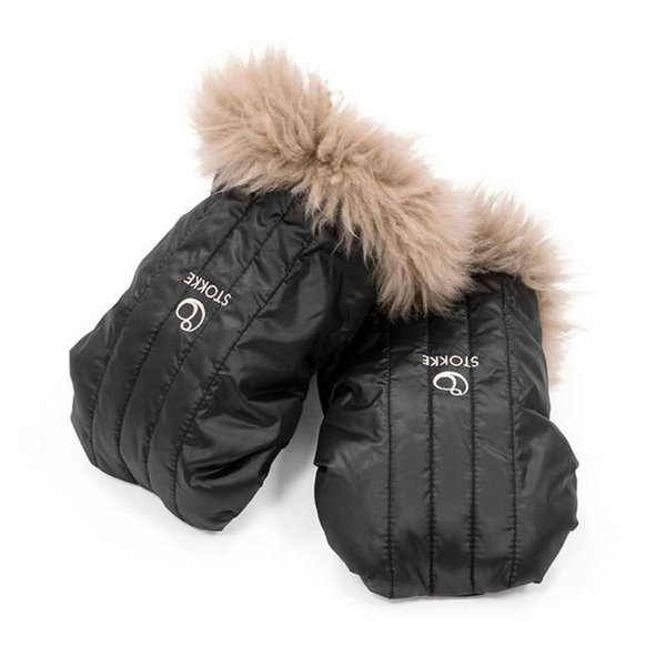 View larger image of Stroller Mittens - Onyx Black