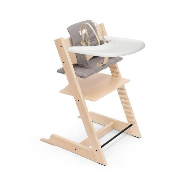 View larger image of Tripp Trapp High Chair & Cushion with Tray