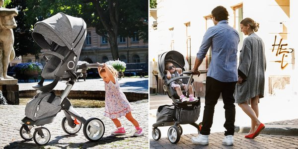View larger image of Stokke Xplory Stroller - Grey Melange