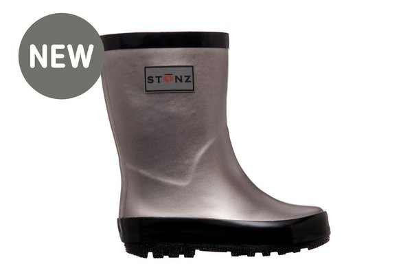 View larger image of Rain Bootz - Metallic Grey