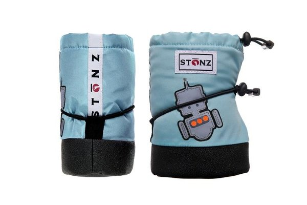 View larger image of Booties - Robot - Haze Blue