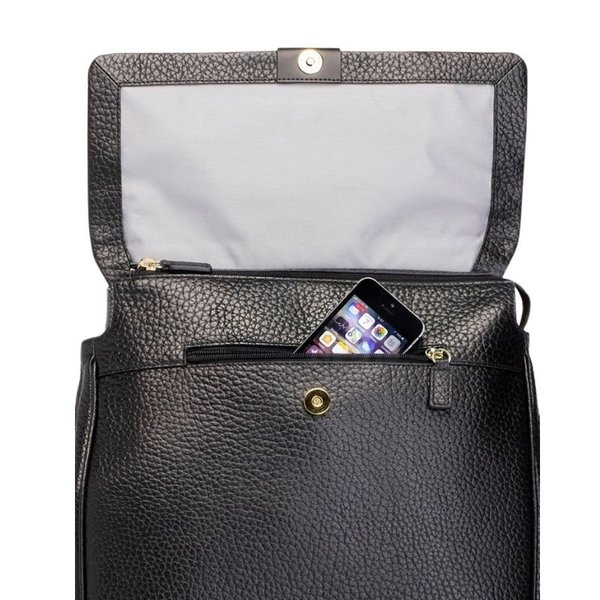 View larger image of St. James Leather Backpack - Black