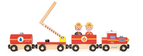 View larger image of Story Train Firefighters