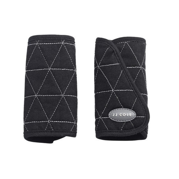 View larger image of Reversible Strap Covers - Black Tri Stitch
