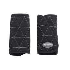 Reversible Strap Covers - Black Tri Stitch