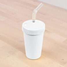 Straw Cup with Lid