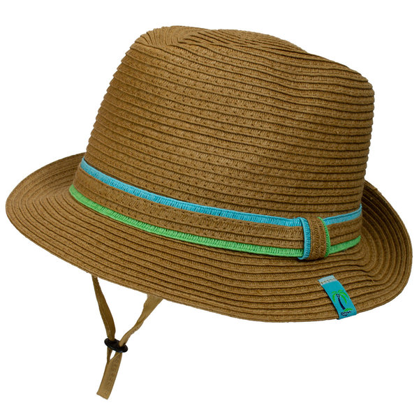 View larger image of Straw Fedora-Tan Combo-L