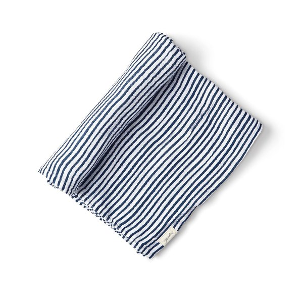 View larger image of Stripes Away Swaddle - Ink