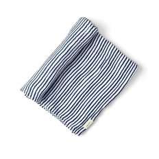 Stripes Away Swaddle - Ink