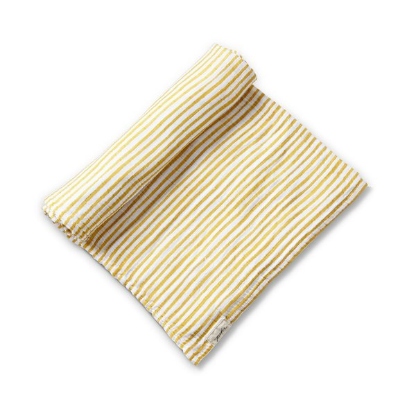 View larger image of Stripes Away Swaddle - Marigold