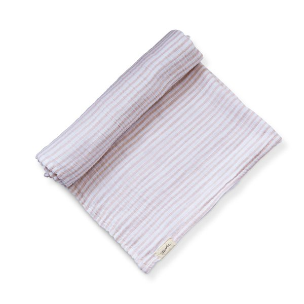 View larger image of Stripes Away Swaddle - Petal