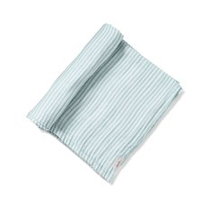 Stripes Away Swaddle - Sea