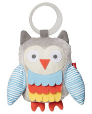 Treetop -Wise Owl Stroller Toy - Grey